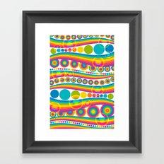 bubblebow Framed Art Print