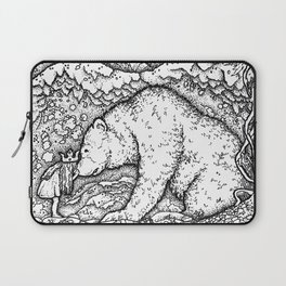 John Bauer Bear Laptop Sleeve