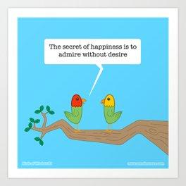 Birds of Wisdom #2 Art Print