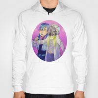 dmmd Hoodies featuring Watch out! Clear and Aoba by Mottinthepot