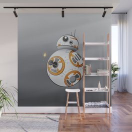 War in the Stars -- BB-8 Wall Mural