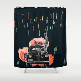 Dreamer Streamers Shower Curtain