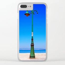 Peraia lamppost Clear iPhone Case