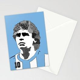 Diego Maradona Argentina Stationery Cards