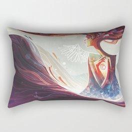 Flightless Rectangular Pillow