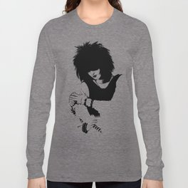 Tribute to Siouxsie Sioux Long Sleeve T-shirt