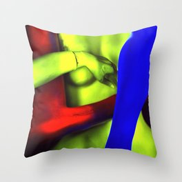 The Rape of Venus Throw Pillow