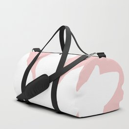 White Fern Pink Fall Duffle Bag