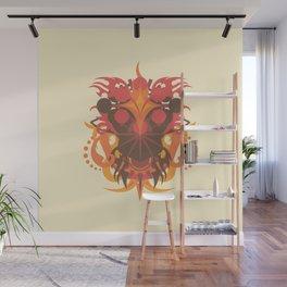Abstraction Eighteen Hades Wall Mural