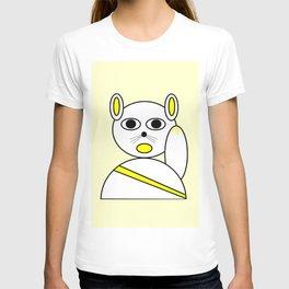 Maneki neko golden version. T-shirt