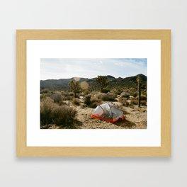 Desert Mornings Framed Art Print