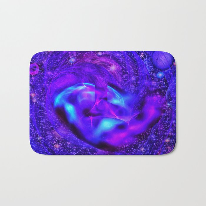 Cosmic Electricity Bath Mat
