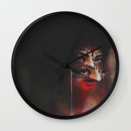 Masquerade Wall Clock