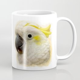 Sulphur Crested Cockatoo realistic painting Coffee Mug