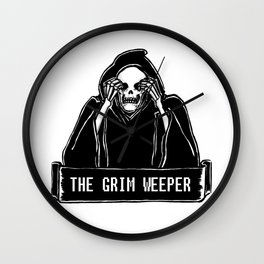 The Grim Weeper Wall Clock