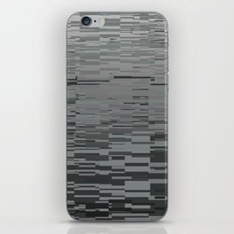 Gray Lines iPhone Skin