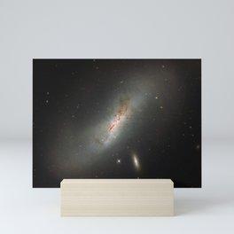 Leda NGC 4424 The Beautiful Universe Mini Art Print