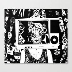 Hallo Mädchen Canvas Print