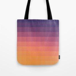 Lumen, Purple and Orange Glow Tote Bag