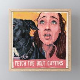 Fiona Fetch Framed Mini Art Print