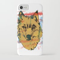 howl iPhone & iPod Cases featuring HOWL by Galvanise The Dog