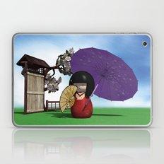 Kokeshi Doll Laptop & iPad Skin