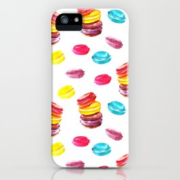 Sweet macaroons iPhone Case
