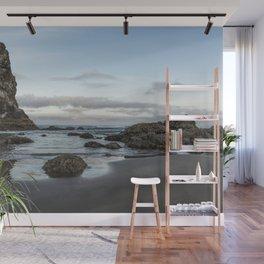 A Serene Morning at Cannon Beach Wall Mural