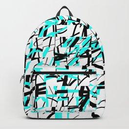 Techno Plaid Backpack