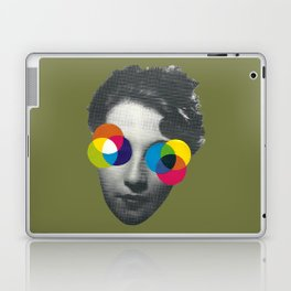 Psychedelic glasses Laptop & iPad Skin