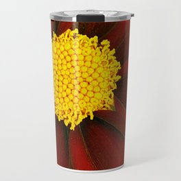 Ruby Coreopsis Travel Mug