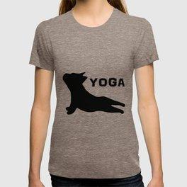 Cute French Bulldog. Yoga Puppy T-shirt