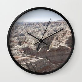 Fantastic Badlands Wall Clock