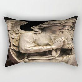 Don't Blink Rectangular Pillow