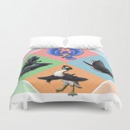 The Birds of Ness Duvet Cover