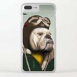 "Wing Commander, Benton ""Bulldog"" Bailey of the RAF Clear iPhone Case"