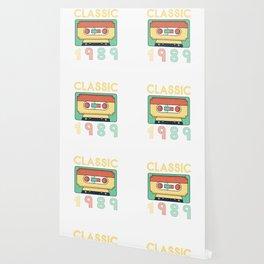 Classic 1989 Mixtape Cassette Birthday Wallpaper