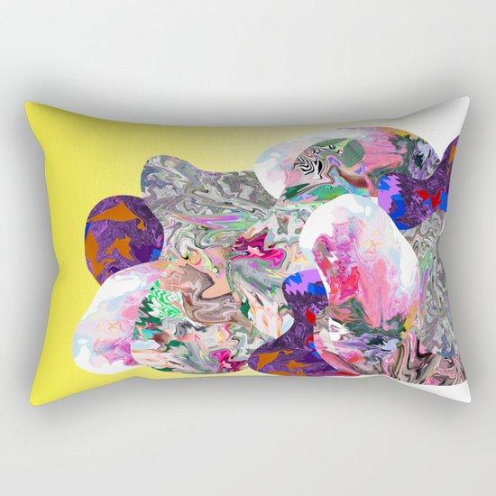 Hidden Faces Rectangular Pillow