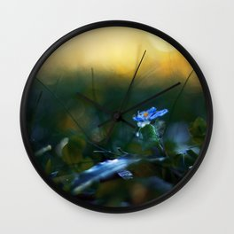 The Incendiary Forest Wall Clock