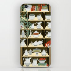 China cabinet iPhone & iPod Skin