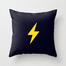 Fast Flash Throw Pillow