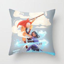 airbender Throw Pillow