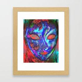 Mask 01 Framed Art Print