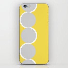 Gray Circles in the Sun iPhone Skin
