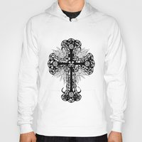 cross Hoodies featuring cross by T.Grimm