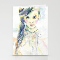 ultraviolence Stationery Cards featuring Ultraviolence by Cora-Tiana