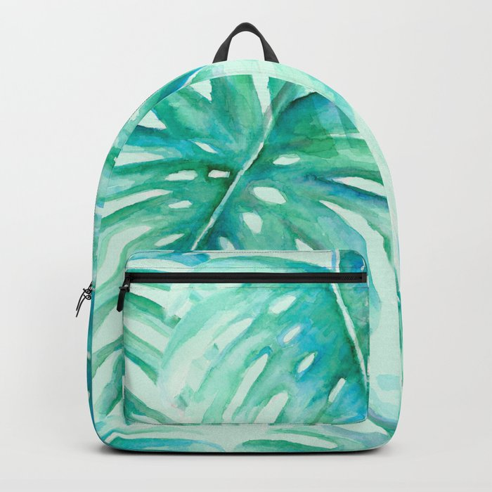 Paradise Palms Mint Backpack