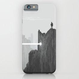 Pixel Art Landscape 005 iPhone Case