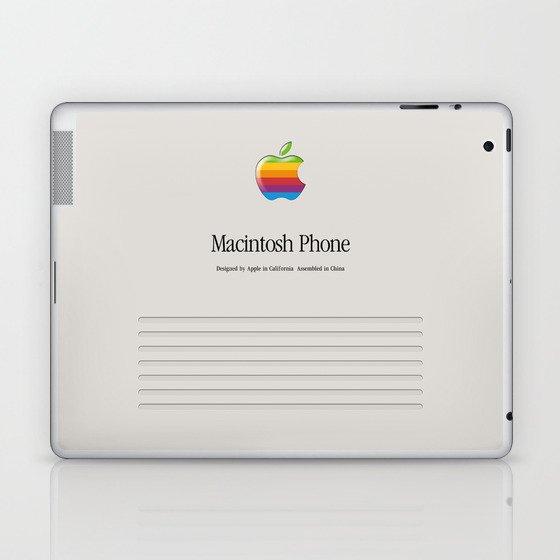 Macintosh phone Vintage Laptop & iPad Skin