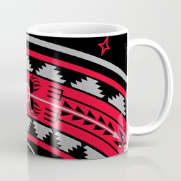 Bear Spirit (Red) Coffee Mug